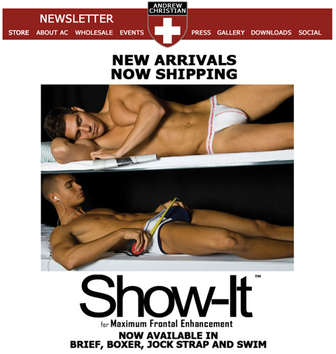 Andrew Christian Show-It
