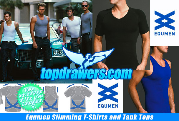 Top Drawers Equmen Undershirts