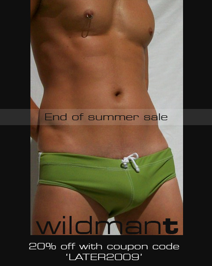 WildmanT Summer 2009 sale