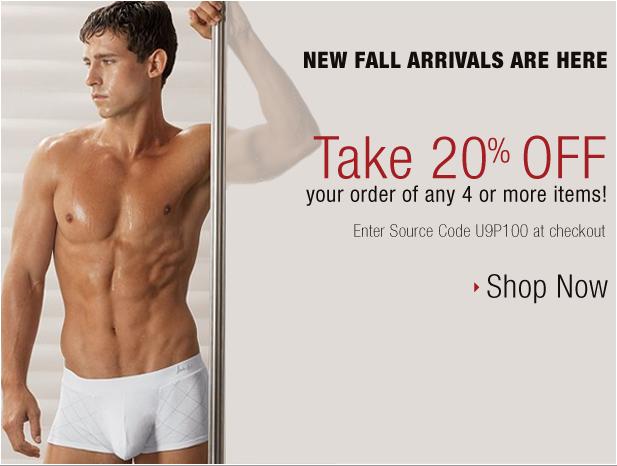 Undergear 20% off sale