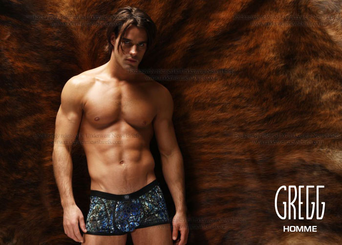 Gregg Homme 2011 Collection Blue Leopard